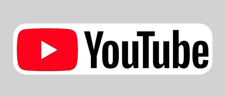 6 inch wide youtube youtube logo full color laminated