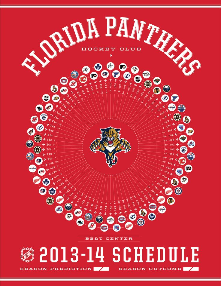 Florida Panthers 2013-14 Schedule