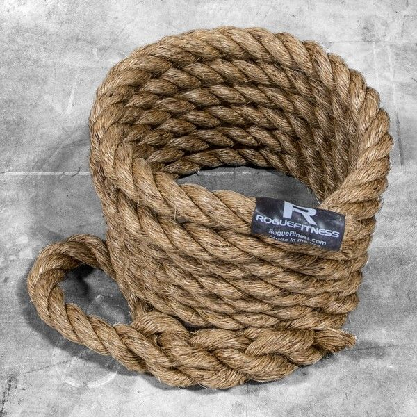 Rogue's American-made climbing ropes offer the grip and durability that's made the manila rope a staple of military bases and shipyards for decades. Order yours today!