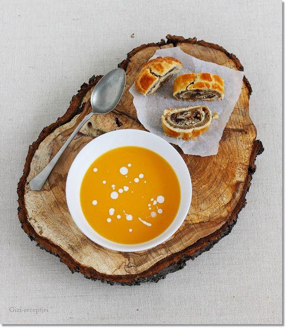 Gizi-receptjei.  Várok mindenkit.: Gyömbéres-narancsos sütőtök-krémleves.