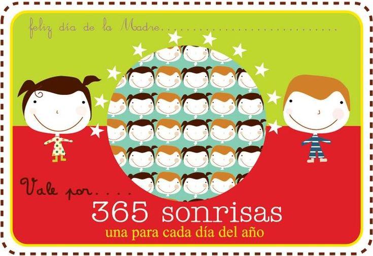 365 sonrisas para ti mama