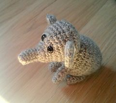 Make It: Baby Elephant - Free Crochet Pattern #crochet thanks so for share xox ☆ ★ https://www.pinterest.com/peacefuldoves/