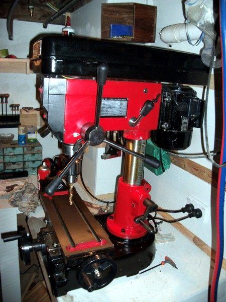 Drill Press  http://www.wackywoodworks.co.nz/tools/drill_press.php