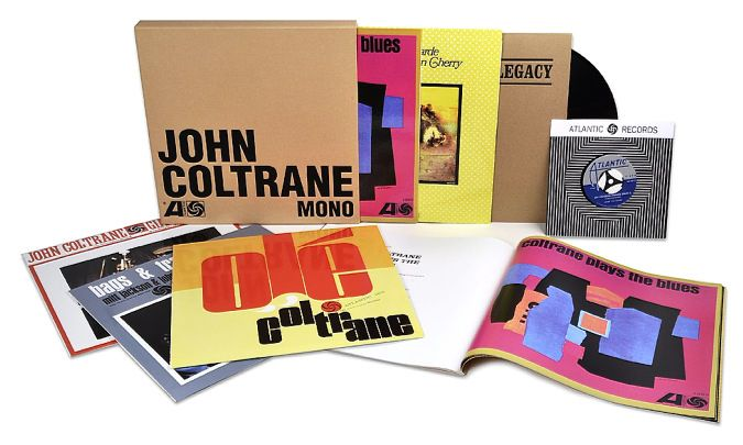 The early genius of John Coltrane – summed up perfectly on his albums for Atlantic Records!  Coltrane was really going through some amazing changes here – picking up on some of his more modal and freewheeling solo expressions, while also able to hang back in some of the more soulful moments of his previous work on Prestige – criss-crossing jazz territory that few would touch this well again, even though Coltrane continues to influence so many with these records!  The package presents five…