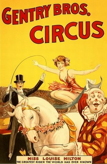 vintage circus posters | See more vintage circus posters at if charlie parker was a gunslinger ...