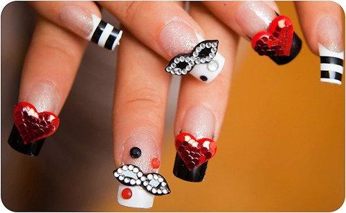 nail art per carnevale