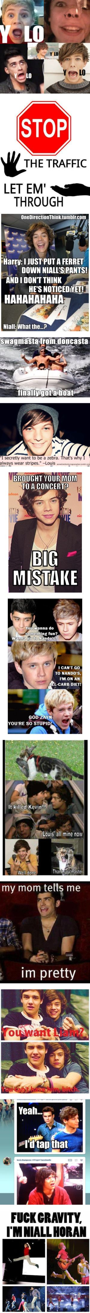 """funny one direction stuff"" by xomaryxoxo ❤ liked on Polyvore"