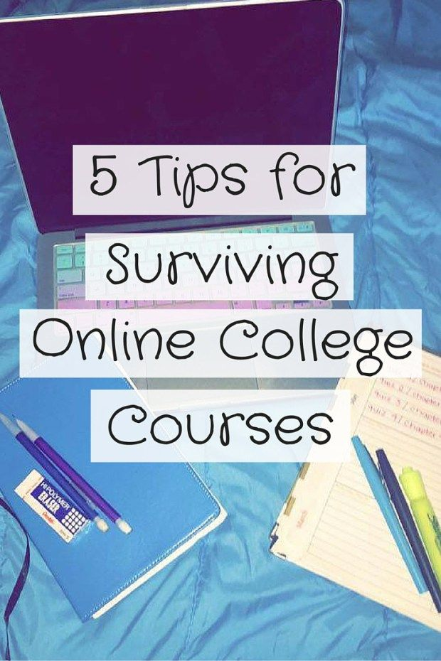 Taking an online course? Here are some tips based off of personal experience.