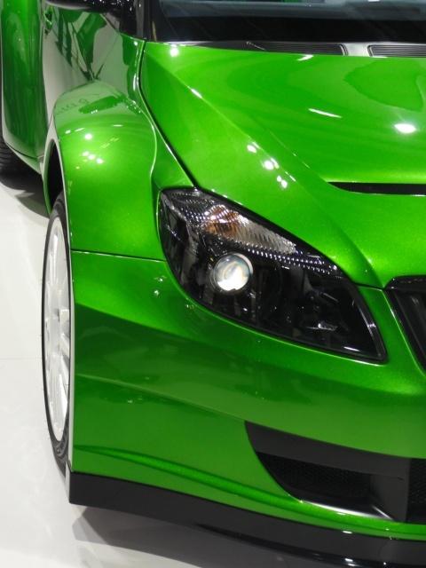 RS 2000 Concept at AUTO EXPO 2012. Delhi.