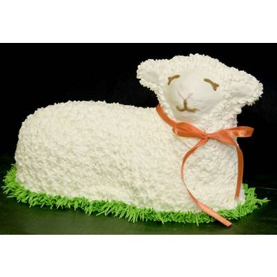 Did your Mom or Grandmother make this lamb shaped cake for you?  Here is the Easter Lamb Cake Pan, $19.95, so you can continue the legacy with your kids or bask in smiles as you deliver the cake to a nursing home.  From Lehmans http://www.lehmans.com/store/Kitchen___Cookware___Baking___Easter_Lamb_Cake_Pan___1103965?partner_id=EMAIL2B