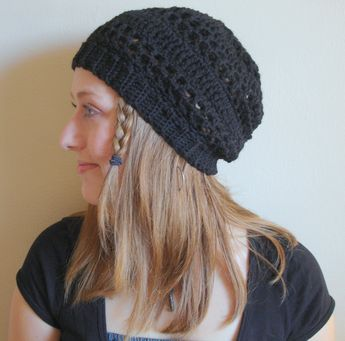 slouch hats | Free Easy Crochet Slouchy Hat Patterns