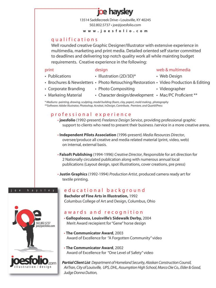 video editor resume - Google Search Resumes samples Pinterest - videographer resume
