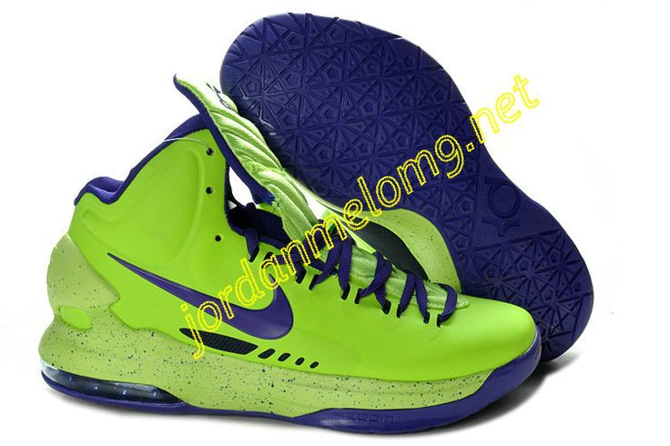 Pas Cher KD V pourpre Volt 554988 102 Nike Zoom Kevin Durant Chaussures 2013