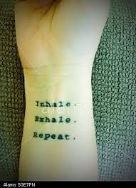 Image result for inhale exhale tattoo