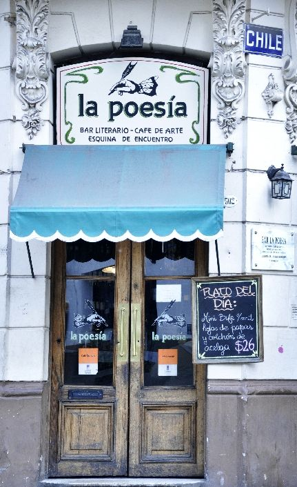 1982 | CAFE LA POESIA | Bolivar y Chile | SAN TELMO