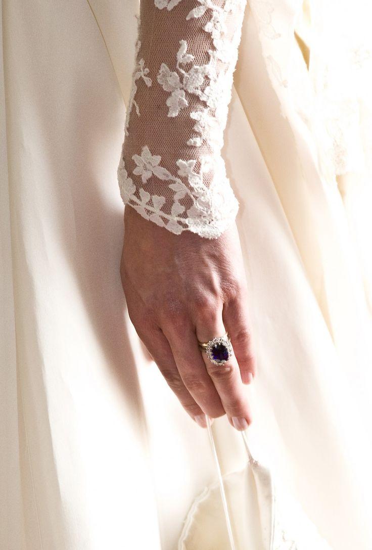 Kate Middleton's wedding dress. Designed by Sarah Burton of Alexander McQueen's.