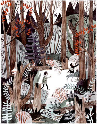 wildwood - illustrations by carson ellis