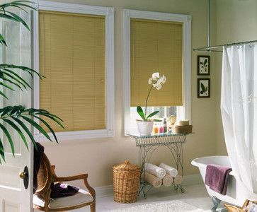 Window Treatments For Bathrooms Bali 1 Mini Blinds