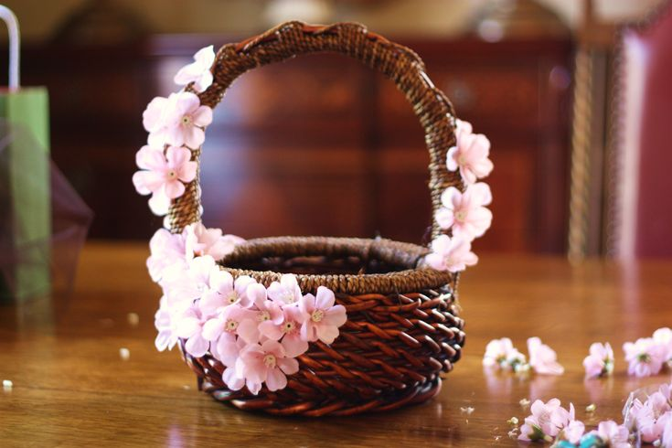 DIY: Adorable Pink Easter Basket | For The Feast