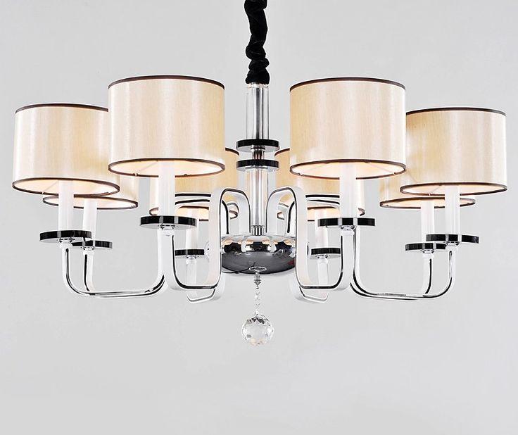 European light crystal chandelier lamp modern minimalist living room lights dining room lights 8 lights-in Chandeliers from Lights & Lighting on Aliexpress.com | Alibaba Group