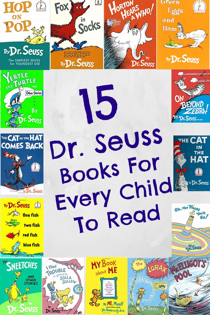 15 Dr. Seuss Books For Every Child To Read