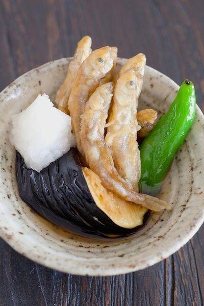 麺つゆでわかさぎと茄子の揚げ浸し by さわけんさん   レシピブログ ...