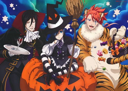 black butler halloween - Google Search