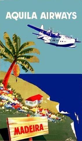 Aquila Airways - Madeira, Portugal vers 1950