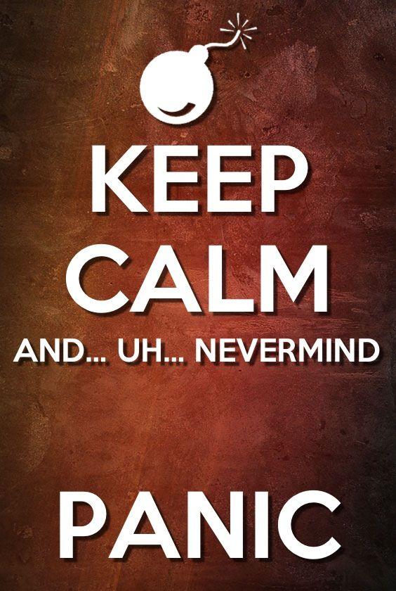Keep calm and _____