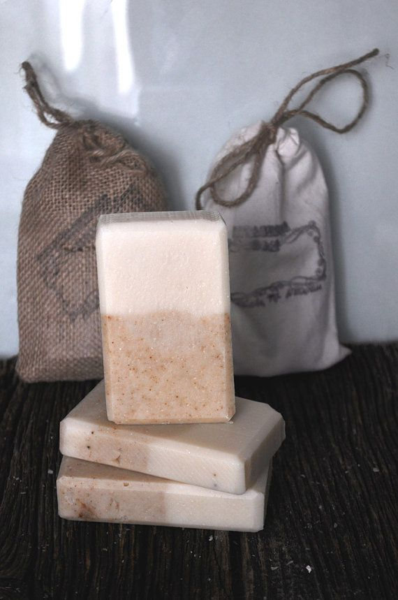 Mediterranean mustard soap Handmade Cold by VintagesqueSoap