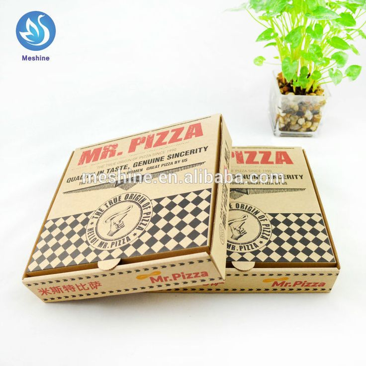 High quality corrugated paper pizza box, View pizza box, meshine Product Details from Hangzhou Meshine Import And Export Co., Ltd. on Alibaba.com