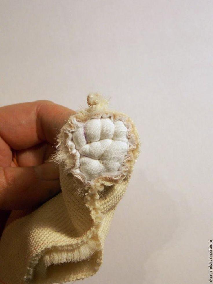 Мишкины пяточки. Делаем выпуклые подушечки лап - Ярмарка Мастеров - ручная работа, handmade
