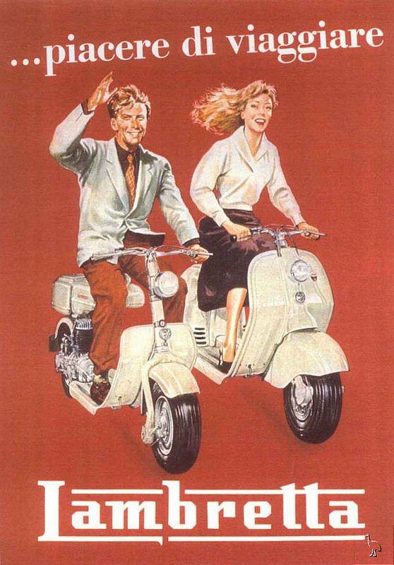 """Lambretta - """"The pleasure of travel"""""""