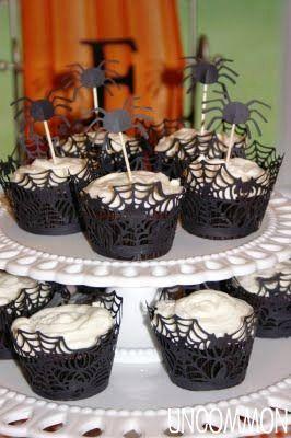 cricut inspired halloween cupcake holders kys cricut - Halloween Cupcake Holder