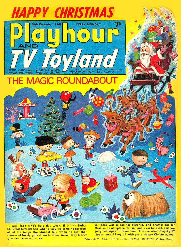Playhour and TV Toyland Christmas 1968