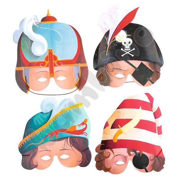 Maski karnawałowe  http://www.mojebambino.pl/produkty-do-ozdabiania/746-maski-karnawalowe-przygoda.html