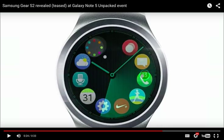 Samsung Gear S2 release date, features, price and everything you need to know  - DigitalSpy.com