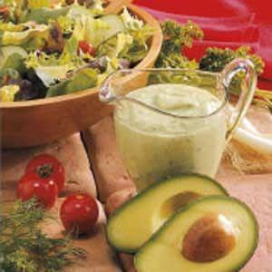 healthy avocado dressing