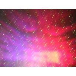 Laser ciel étoilé + LED couleur