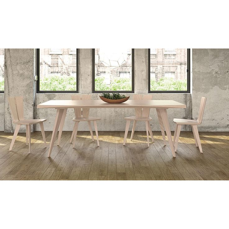 Copeland Furniture Natural Hardwood From Vermont Axis Extension Table