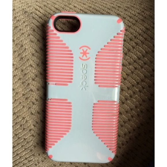 iPhone 5/ 5s speck case Pink and gray speck case for iPhone 5/5s Speck Accessories Phone Cases