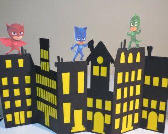 PJ Masks Mask di Unique2YouGifts su Etsy
