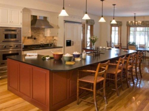 kitchen island with table seating 17 best images about kitchen islands on 24827