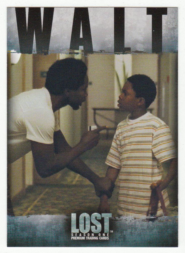 Lost - Season 1 # 70 Walt Lloyd: Willful - Inkworks - 2005