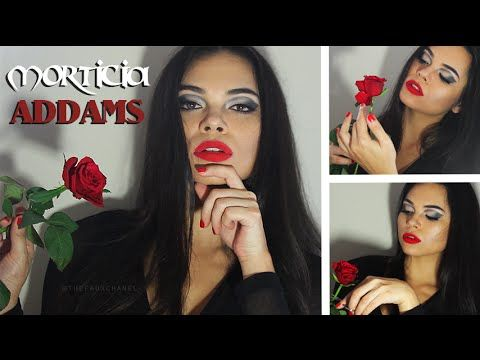 Morticia Addams | #Fridaythe13th Makeup Tutorial! https://www.youtube.com/watch?v=6YbvBhC16Ho #morticiaaddams #theaddamsfamily #addamsfamily #makeup