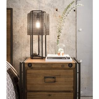 Shop for Aurelle Home Farmhouse Industrial Nightstand. Get free shipping at Overstock.com - Your Online Furniture Outlet Store! Get 5% in rewards with Club O!