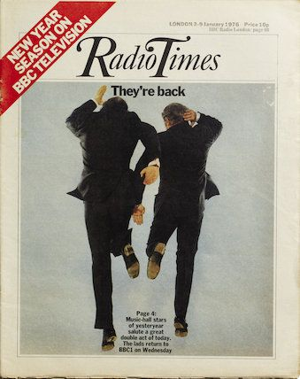 Radio Time cover January 1976 - I think this was when we got our first black & white TV? I remember it was the year the Beatles movies were on at Christmas.