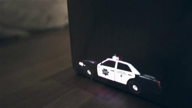 Speed Of Light by Nexus Productions. The world's smallest all action police chase...