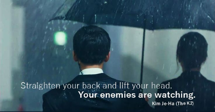'The K2' #Kdrama quote, #TheK2, #KimJeHa