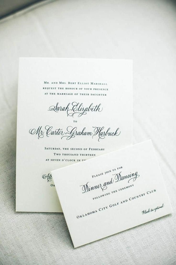 29 Best Fonts For Wedding Invitations Images On Pinterest Color